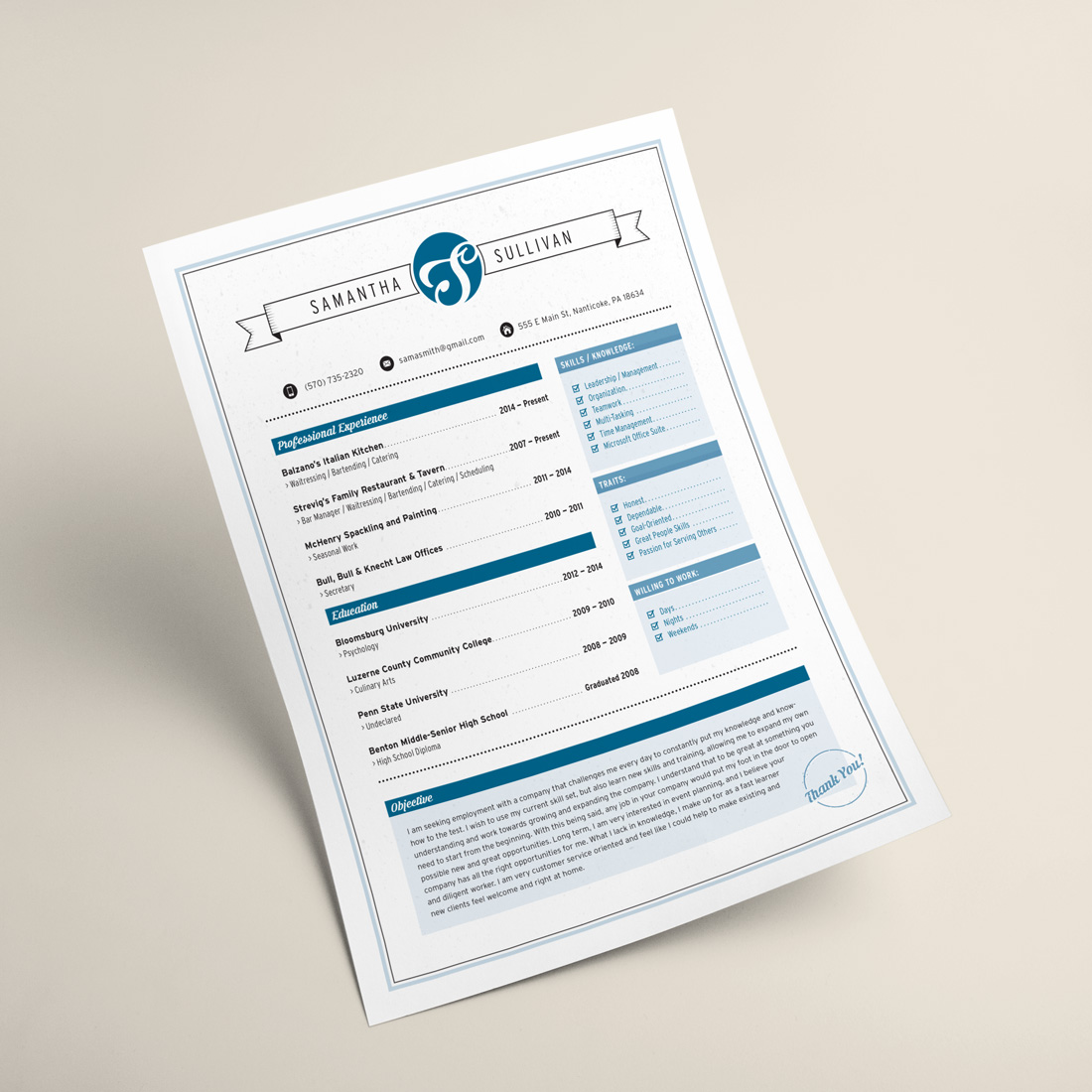 custom designed resumes black locust web graphic design